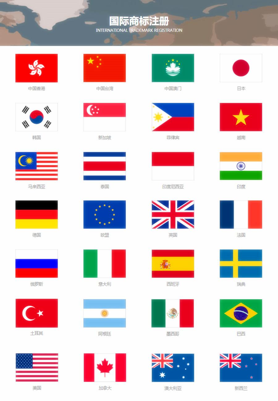国际商标注册服务 专业团队 费用透明 高效省心